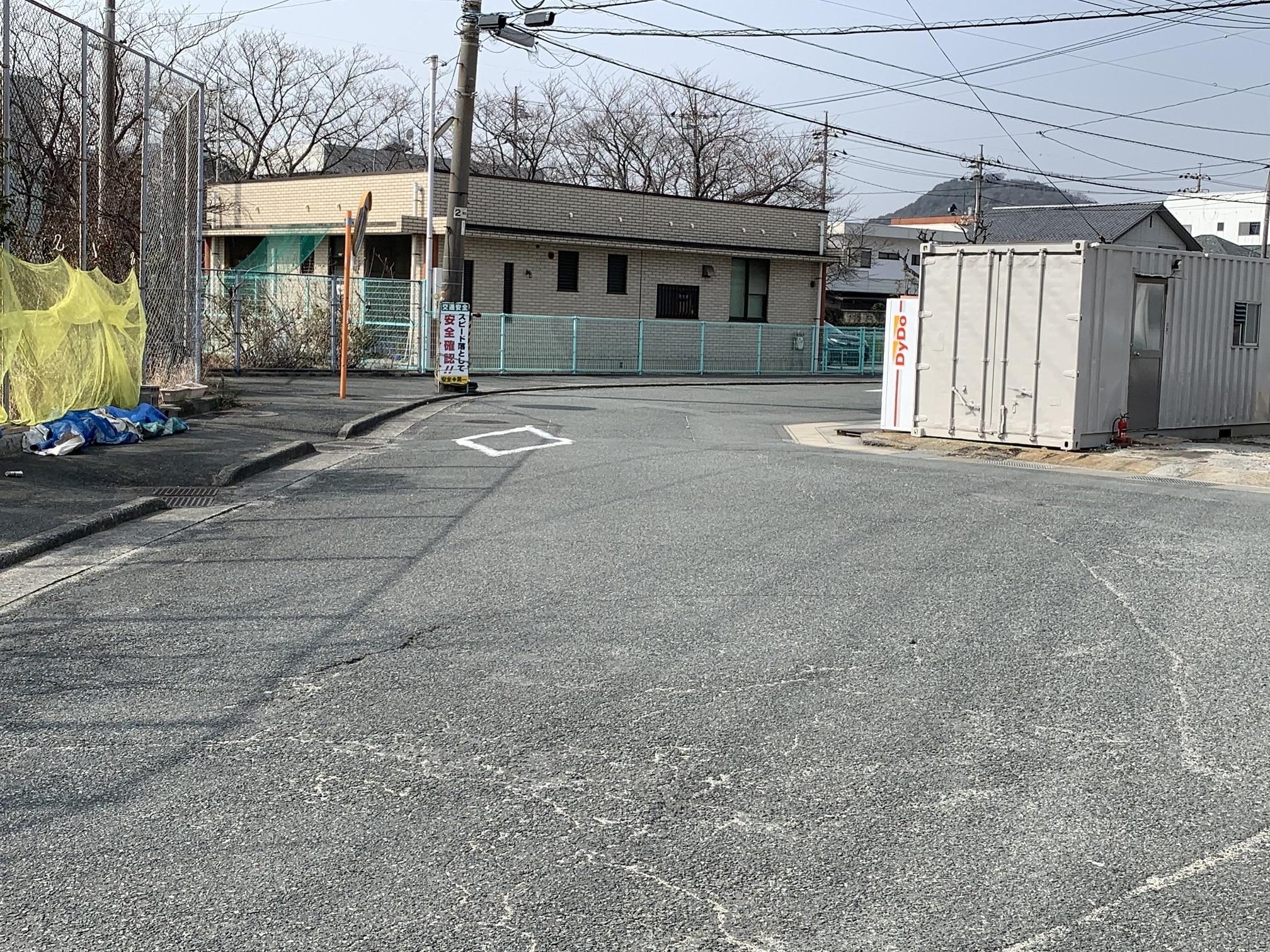 防府市三田尻3丁目 売土地
